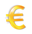 Euro currency signs vector image