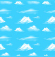 background scene with blue sky vector image