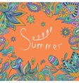 Bright Summer Indian vector image