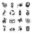 Ecology icons set2 vector | Price: 1 Credit (USD $1)
