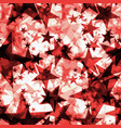 metallic red glowing dark golden stars on a light vector image vector image