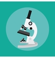 microscope isolated tools chemistry technology vector image vector image