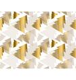 xmas tree luxury pastel color seamless pattern vector image vector image