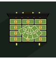 Money in suitcase vector image