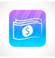 paper money icon vector image