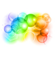 bubble abstract background vector image vector image