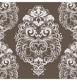 lace floral element in eastern style vector image vector image