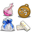 set items for games or other design needs vector image vector image