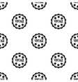 Vintage icon in black style isolated on white vector image vector image