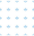arrow icon pattern seamless white background vector image vector image