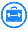 case rounded grainy icon vector image vector image