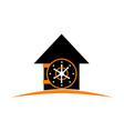 home vault vector image vector image