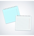 modern notebook on gray background Eps10 vector image vector image