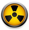 radioactive symbol radiation icon vector image