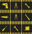 Repairing service tool sign icons vector image