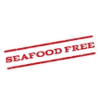 Seafood Free Watermark Stamp vector image vector image