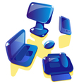 Soap computer icons vector image