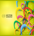 abstract futuristic concept vector image