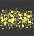 abstract golden glitters background vector image vector image