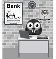 Bank Manager vector image