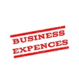 Business Expences Watermark Stamp vector image