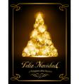 Christmas card tarjeta navidena vector image vector image