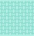 decorative green pattern vector image vector image