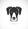 Dog Great Dane vector image vector image