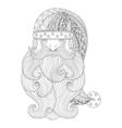 Fancy Santa vector image vector image