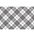 Pixels black and white check plaid seamless