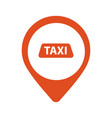 taxi cab logo design car hire badge app vector image