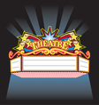 theatre Marquee vector image