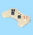 video game gamepad controller vector image vector image
