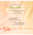 Abstract Wedding Fabric Background Design vector image