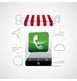 app store design vector image vector image