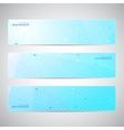 collection horizontal banners design molecule