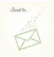 letter vector envelope mail vector image