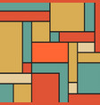square shapes background vector image vector image