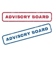 Advisory Board Rubber Stamps vector image vector image