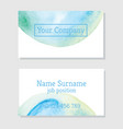 art of watercolor stains of paint vector image vector image