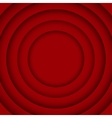 Concentric Red6 Circle Red Background vector image