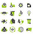 alternative energy icons