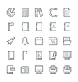 Education Cool Icons 2 vector image vector image