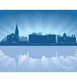 Galway Ireland skyline vector image vector image