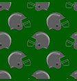 sport football helmet seamless pattern vector image