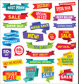Super sale discount labels tags and stickers