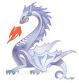 Dark dragon vector image