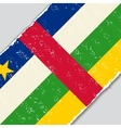Central African Republic grunge flag