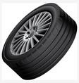 automobiles alloy wheel vector image vector image
