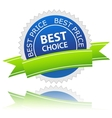 Best Choice icon vector image vector image